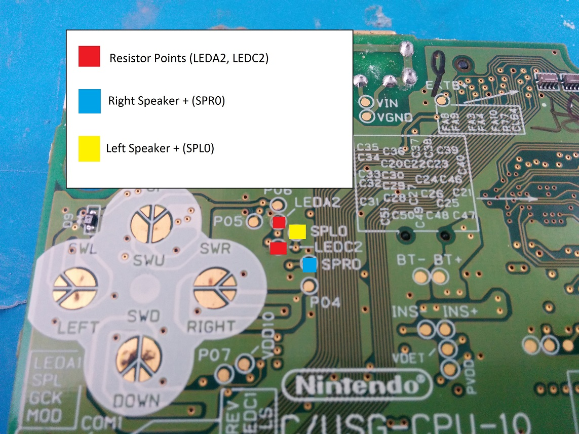 Macro Tutorial Ds Lite Game Boy You Have To Clean And Sand The Top Bottom Of Circuitboard Now Can Reconnect Wifi Board Hook Battery Up Plug Screen In Test It